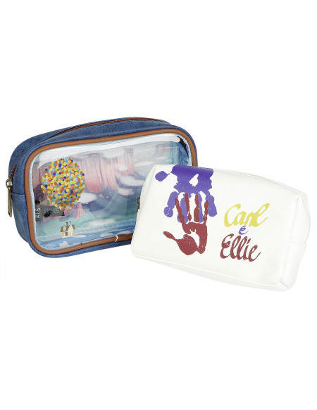 Là-Haut Loungefly - Carl & Ellie Trousse de Toilette multicolore
