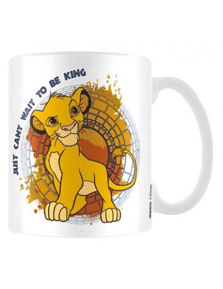 Le Roi Lion King Mug blanc