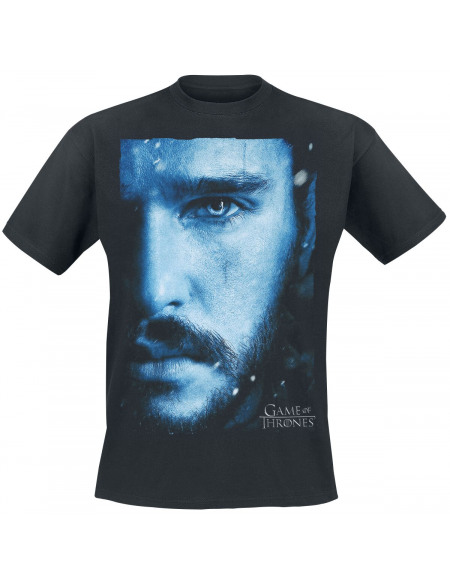 Game Of Thrones Jon Snow - Rising Snow T-shirt noir