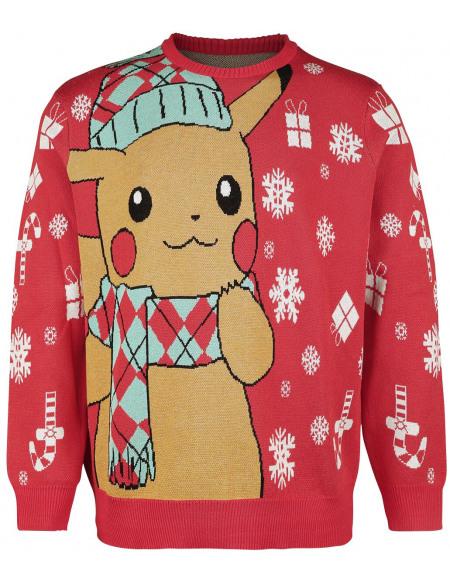 Pokémon Pikachu Pull rouge