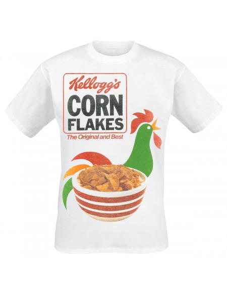 Kellogg's Cornflakes - The Original And Best T-shirt blanc