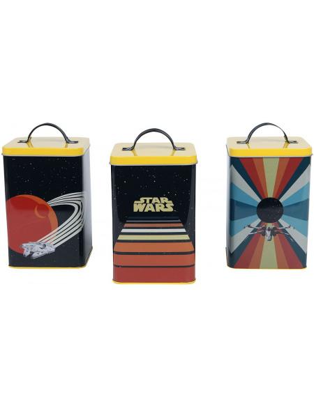 Star Wars Véhicules Rétros Boîte rangement multicolore