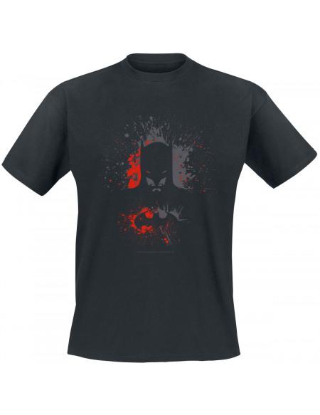 Batman Batman Spray T-shirt noir