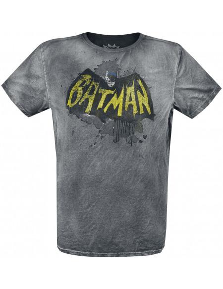 Batman Logo 1966 T-shirt noir