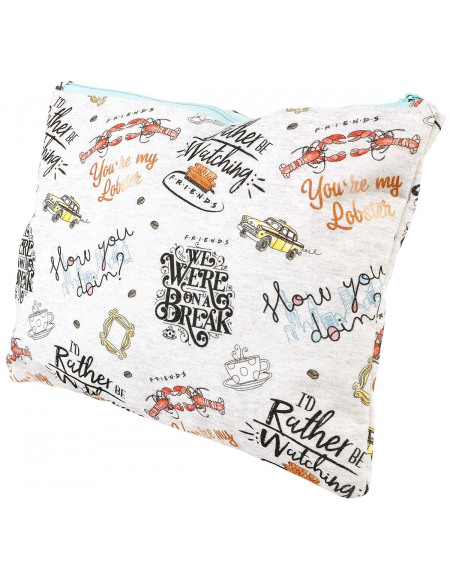 Friends Zitate Trousse multicolore