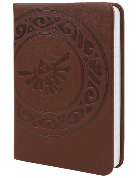 The Legend Of Zelda Carnet De Notes A6 Pocket Premium Cahier marron clair
