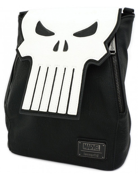 The Punisher Loungefly - Crâne Sac à Dos noir/blanc