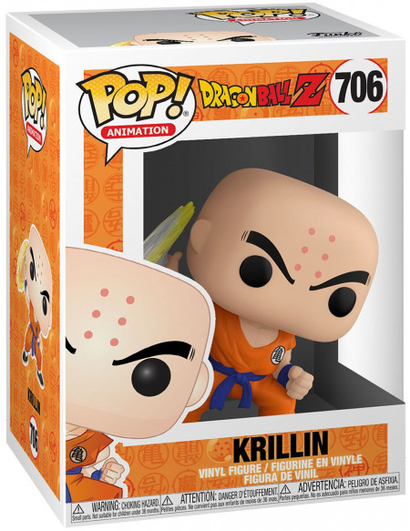 Dragon Ball Dragon Ball Z - Krilin - Funko Pop! n°706 Figurine de collection Standard