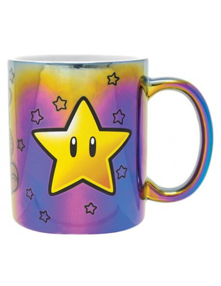 Super Mario Star Power Mug lilas/jaune