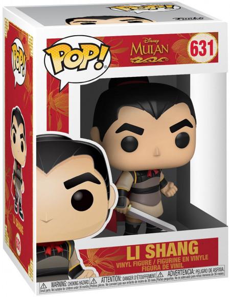 Figurine Funko Pop Disney Mulan Li Shang