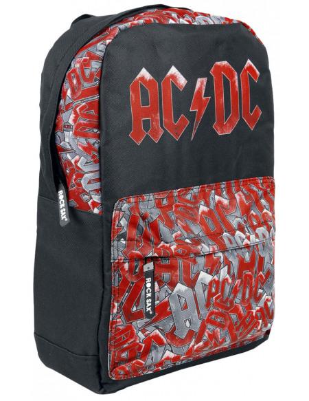 AC/DC Pocket AOP Sac à Dos noir