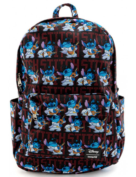 Lilo & Stitch Loungefly - Elvis Stitch Sac à Dos multicolore