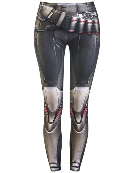 Overwatch Wild Bangarang - Cosplay Faucheur Legging multicolore