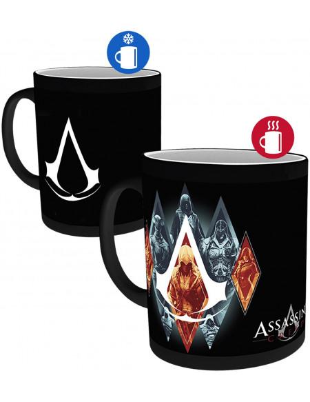 Assassin's Creed Legacy - Heat-Change Mug Mug multicolore