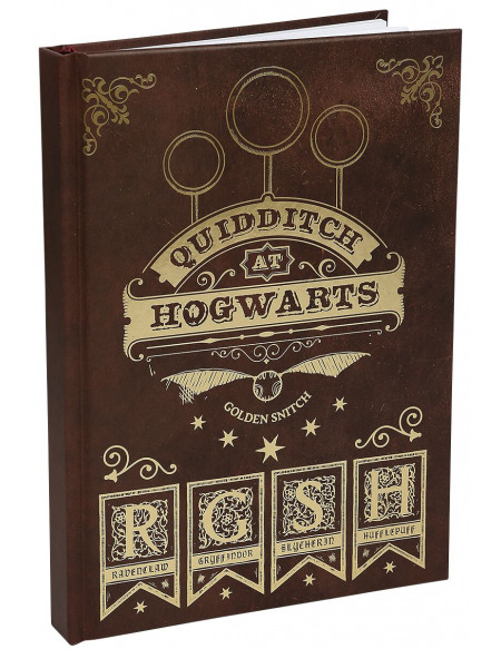 Harry Potter Quidditch Cahier multicolore