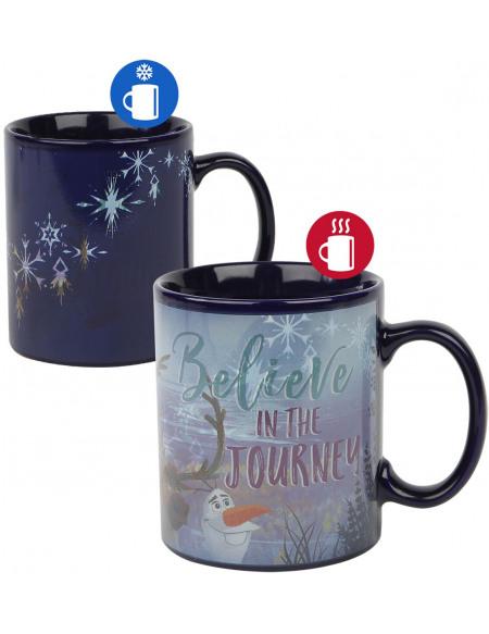 La Reine Des Neiges Believe In The Journey - Mug Thermoréactif Mug multicolore