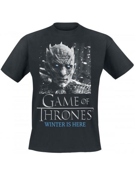 Game Of Thrones Nightking - White Walker T-shirt noir
