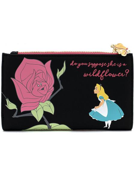 Alice Au Pays Des Merveilles Loungefly x Disney - Sprechende Blumen Portefeuille Standard