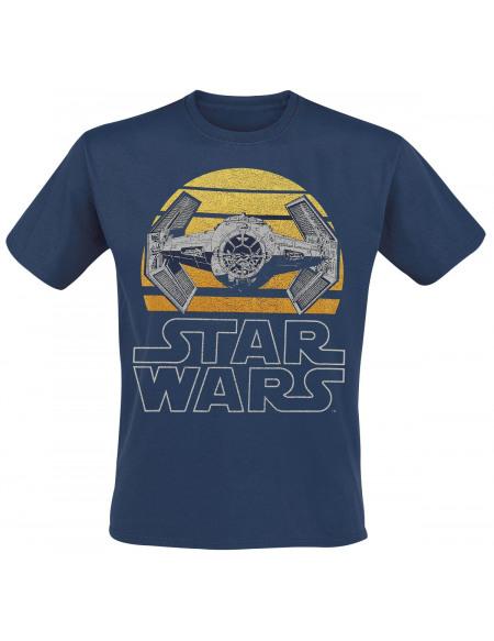 Star Wars TIE T-shirt bleu