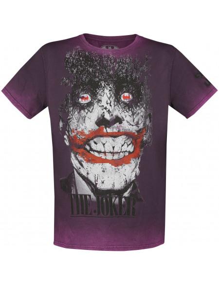 Batman The Joker T-shirt lilas