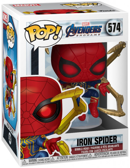 Figurine Funko Pop Marvel Iron Spider With Nano Gauntlet
