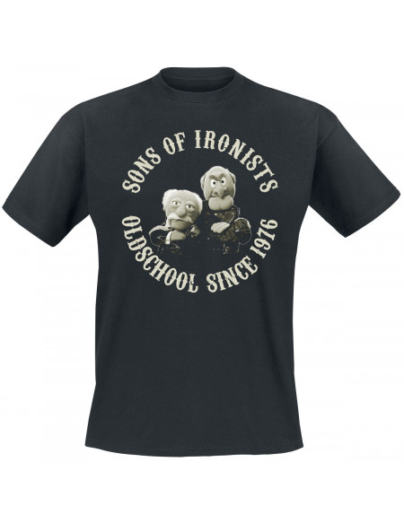 Le Muppet Show Sons Of Ironists T-shirt noir