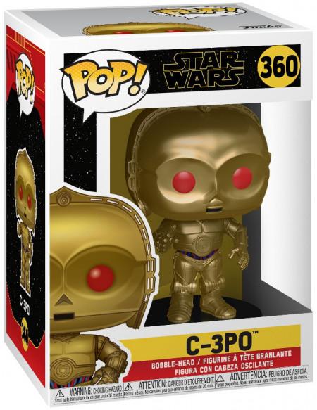 Figurine Funko Pop C-3PO 360 Star Wars 9