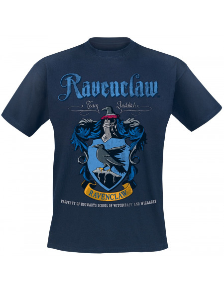 Harry Potter Serdaigle - Quidditch T-shirt bleu