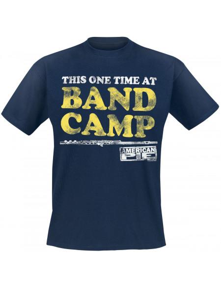 American Pie Band Camp T-shirt bleu foncé