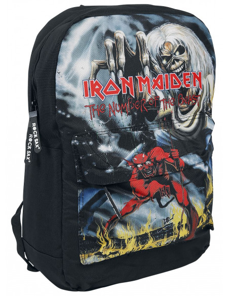 Iron Maiden Number Of The Beast Sac à Dos noir