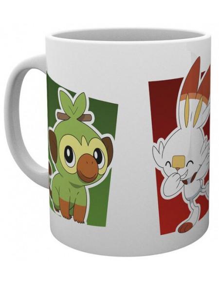 Pokémon Galar Starters - Tasse Mug Standard