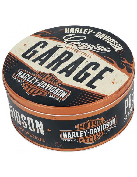 Harley-Davidson Garage - boîte ronde Boîte rangement Standard