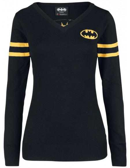 Batman Bat-Signal Pull Femme noir