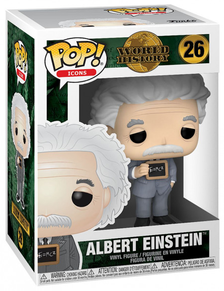 Albert Einstein World History - Albert Einstein - Funko Pop! n°26 Figurine de collection Standard
