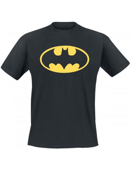 Batman Logo T-shirt noir