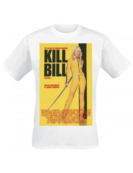 Kill Bill Poster T-shirt blanc