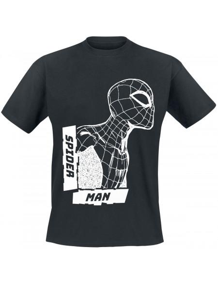 Spider-Man Noir & Blanc T-shirt noir