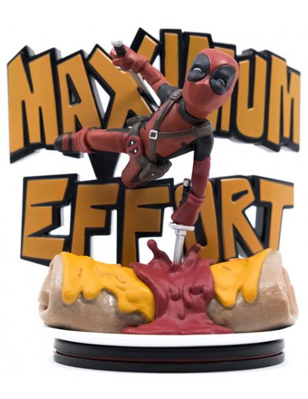 Deadpool Figure Q Deadpool Maximum Effort (Max Diorama) Figurine de collection Standard