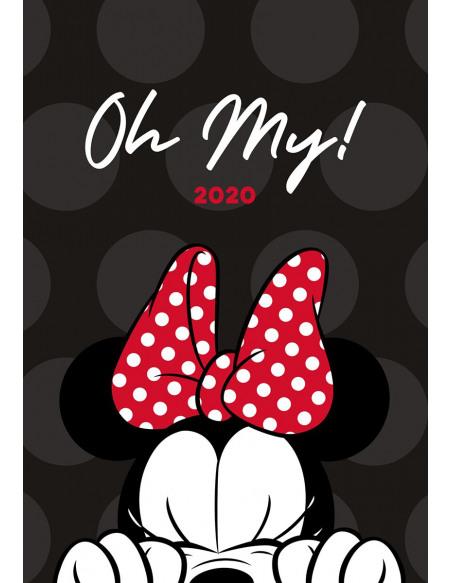 Minnie Mouse Minnie Mouse - Agenda A5 2020 Agenda multicolore