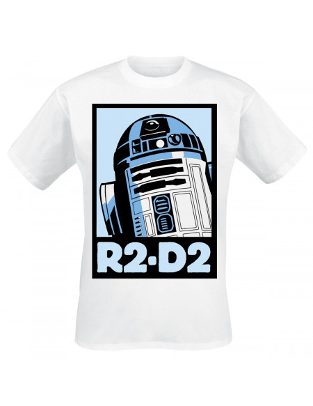 Star Wars T-shirt blanc