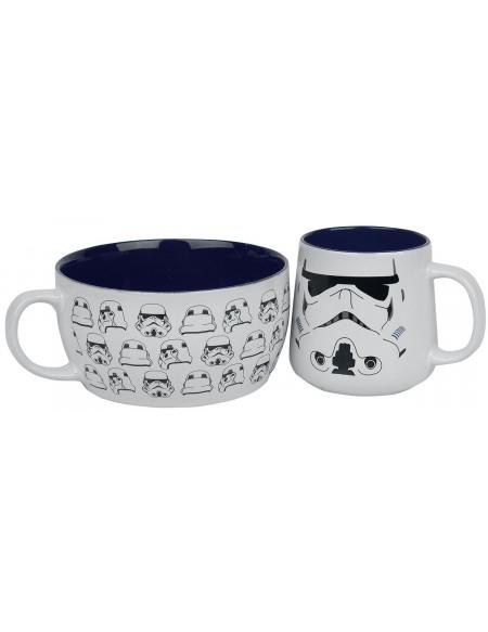 Star Wars Stormtrooper Set petit déjeuner multicolore