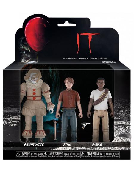 IT Set 4 - Pennywise, Stanley Uris et Mike Hanlon Figurine de collection Standard