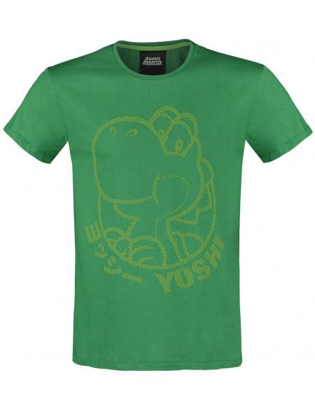 Super Mario Yoshi T-shirt vert