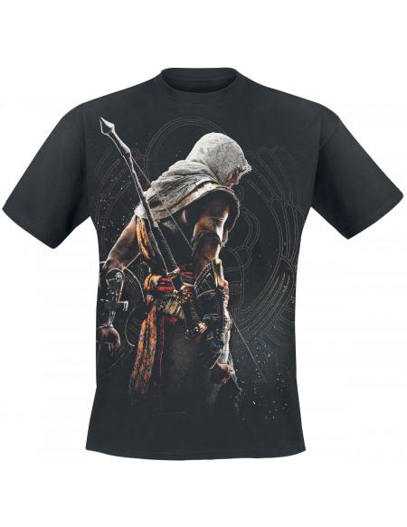 Assassin's Creed Origins - Bayek T-shirt noir