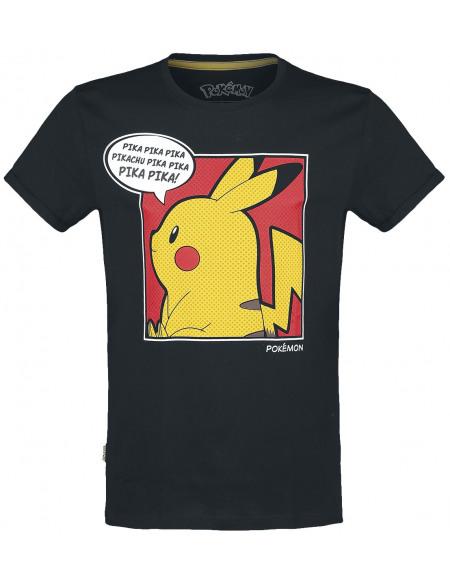 Pokémon Pika Pop T-shirt noir