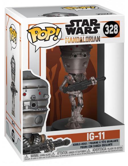 Star Wars The Mandalorian - IG-11 - Funko Pop! n° 328 Figurine de collection Standard