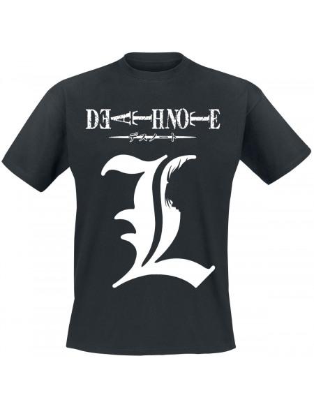 Death Note Shadow Of L T-shirt noir