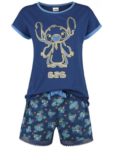 Lilo & Stitch Lilo Pyjama bleu foncé