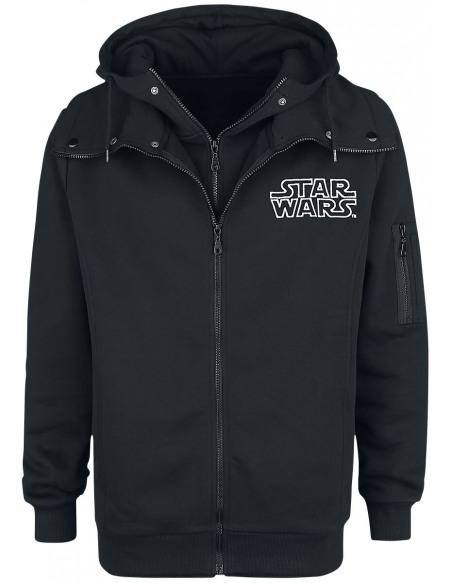 Star Wars Galactic Empire Sweat Zippé à Capuche noir