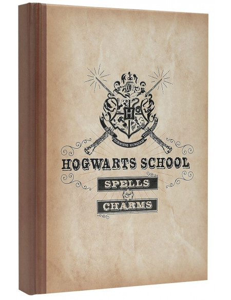 Harry Potter Hogwarts School Cahier multicolore